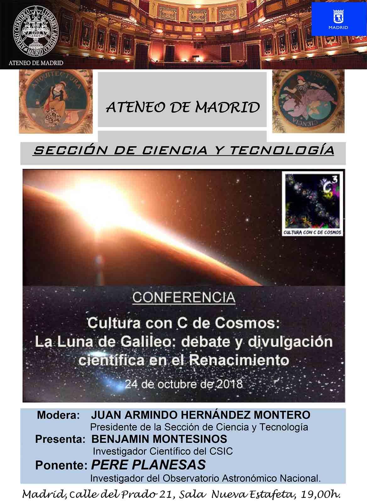 c3 La luna de Galileo Ateneo Madrid