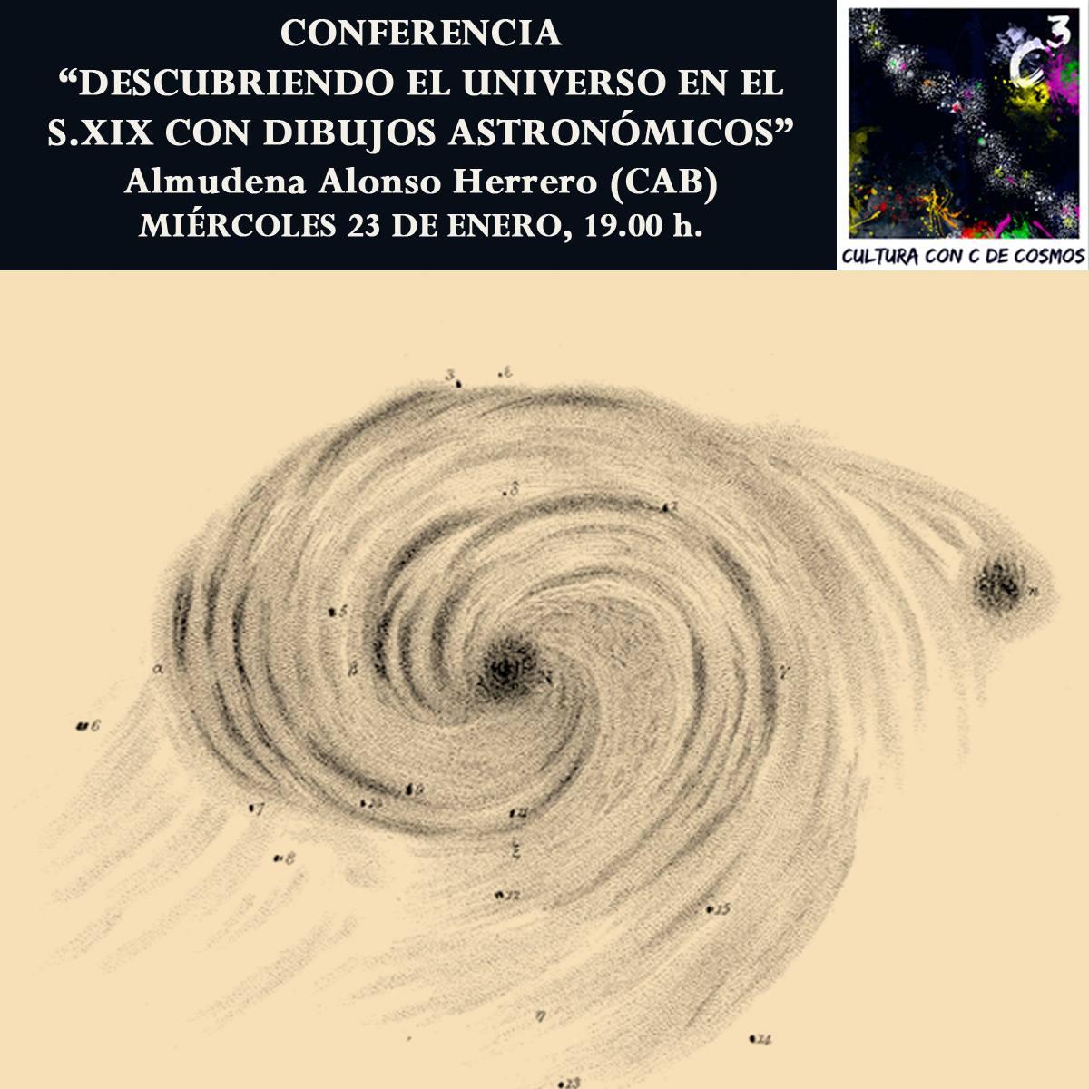 Descubriendo el Universo en el S. XIX con dibujos astronómicos C3