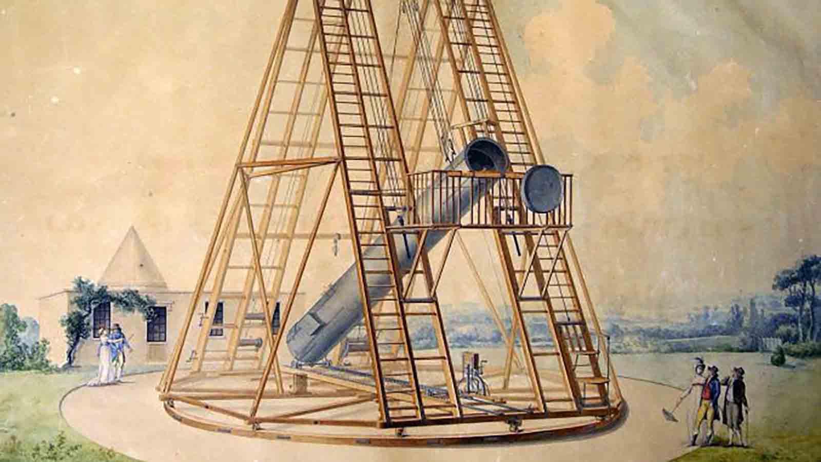 MAN Herschel C3 -La eclosión de la astronomía moderna