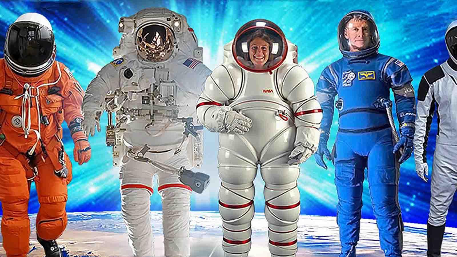 C3 Moda en órbita: breve historia del traje espacial